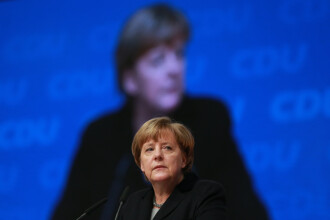 Angela Merkel, aplaudata la scena deschisa timp de 8 minute. Ce a spus in discursul sau despre refugiati, Europa si Germania