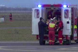 Doi frati au murit intoxicati cu fum, dupa ce o aeroterma lasata pe televizor a provocat un scurtcircuit. Unde erau parintii