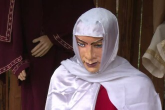 Statuia Fecioarei Maria care i-a speriat pe ploiesteni.