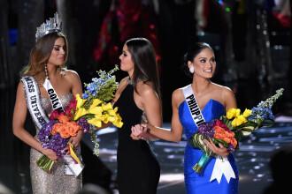Gafa la Miss Univers. Cum a ajuns Miss Columbia sa se bucure de coroana doar 5 minute, desi nu a fost ea castigatoarea. FOTO
