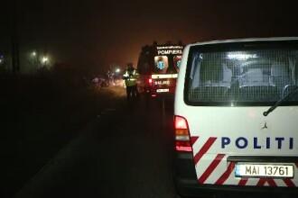 Accident spectaculos in Capitala, surprins de camerele de supraveghere. Momentul in care doua masini se ciocnesc violent