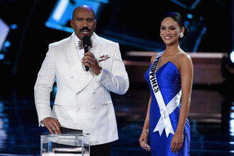 Explicatia actorului Steve Harvey, dupa gafa de proportii de la Miss Univers:
