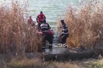 Cadavrul unei femei a fost gasit in lacul Amara, la o saptamana de la disparitie. Ce s-a aflat despre concubinul acesteia