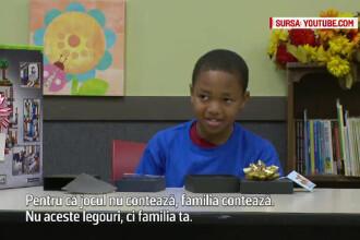 Experiment de Craciun: copii, pusi sa decida intre cadouri pentru ei si pentru parinti.