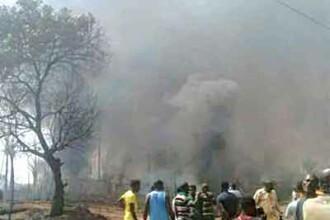 Explozie devastatoare la o uzina de gaz din Nigeria. Cel putin 100 de oameni au murit