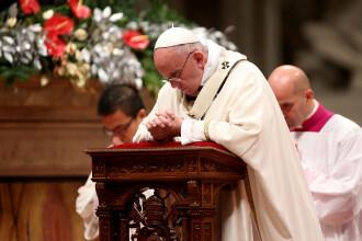 De Craciun, Papa Francisc indeamna la