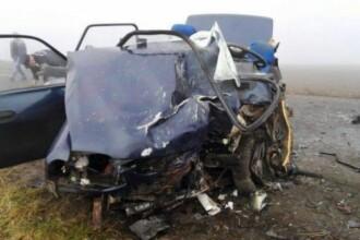 Doi morti si doi raniti intr-un accident rutier pe drumul dintre Botosani si Dorohoi