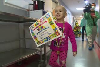 Ultimele zile pentru a-i ajuta pe copiii bolnavi de cancer sa aiba o sansa la viata: