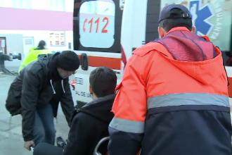 Sase raniti dupa ce o garnitura de vagoane a fost lovita in plin de o locomotiva in Gara Arad. Ce a povestit mecanicul