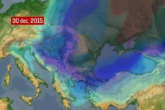 Un val de ger siberian ajunge in Romania peste doua zile. Cat de mult vor scadea temperaturile in toata tara