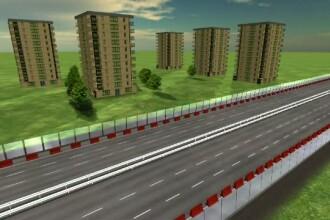 Capitala tarii care a inaugurat 16km de autostrada in 2015 vrea o sosea de viteza urbana. Ce ii lipseste insa Bucurestiului