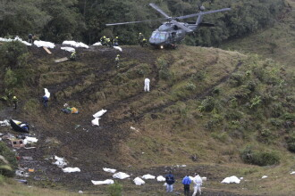 Avionul prabusit in Columbia nu a realimentat. Capacitatea rezervorului, prea mica pentru distanta pe care a strabatut-o