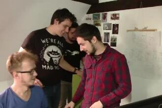 iLikeIT. Cativa tineri din Cluj lucreaza la un joc video cu roboti de 100.000 de dolari: Second Hand - Razbunarea lui Frankie
