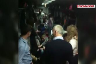 300 de pasageri inghesuiti in doar doua vagoane ale unui tren regional, timp de 6 ore. Ce li s-a reprosat tot calatorilor