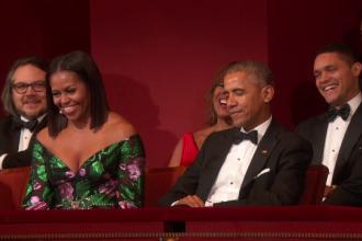 Al Pacino si trupa The Eagles, onorati de presedintele Obama.