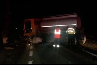Accident mortal in Constanta. Un barbat a intrat cu masina sub o autocisterna plina cu motorina