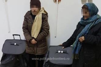 Doua femei afgane ascunse in geamantane, depistate in trenul Bucuresti-Viena. Unde erau asezate valizele. FOTO
