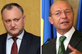 Dodon spune ca pana la Anul Nou ii va retrage cetatenia moldoveneasca lui Basescu.