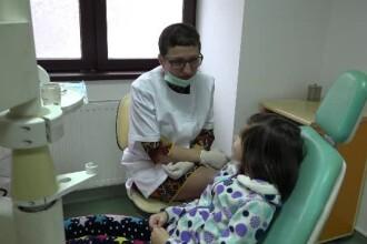 Consultatii stomatologice gratuite pentru 2.000 de copii. Cea mai mare problema apare la varsta de 6 ani