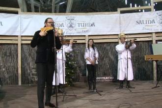Concert extraordinar de colinde si muzica populara in Salina Turda. Naist: