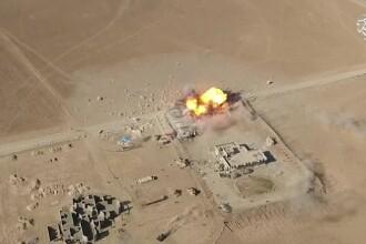 Atacuri ale sinucigasilor cu bomba filmate cu drona, noul film de propaganda al ISIS. Ce mesaj vor sa transmita teroristii