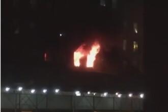 Zeci de oameni au fost raniti intr-un incendiu la un zgarie-nori din Manhattan. VIDEO