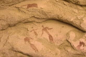 Descoperire uimitoare. Cel mai vechi desen al nasterii de Craciun are 5000 de ani, intr-o pestera