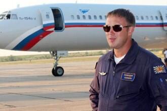 Primele imagini cu pilotul avionului prabusit in Marea Neagra. Kremlinul il considera vinovat pentru tragedie