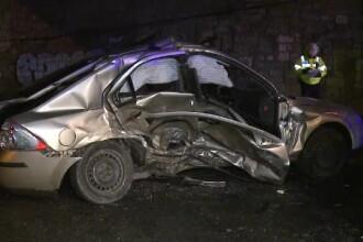 Accident foarte grav la iesirea din Otopeni. Doua persoane au ajuns la spital, in coma
