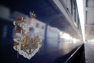 Trenul cu care au călătorit patru generații ale familiei regale ajunge la Alba Iulia