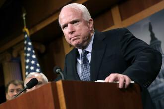 Senatorul american McCain, mesaj în care amintește de angajamentul României privind independenţa justiţiei