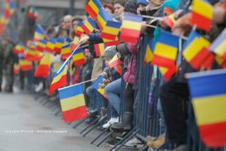 Parada de 1 decembrie 2017, VIDEO. 3.500 de militari români şi străini au defilat