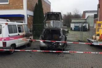 Clădirea din Dortmund, în care stăteau 33 de români, incendiată intenţionat. Reacția președintelui Iohannis