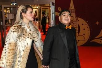 """Iubita lui Maradona, criticată dur, după ce a purtat o haină din blană tigru: """"Are sufletul mai negru decât cărbunele"""""""