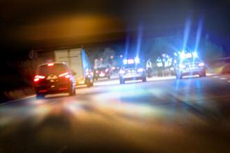 Un șofer a încercat să intre cu o autoutilitară într-o zonă pietonală din Iași