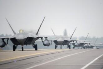Două avioane rusești, interceptate în spațiul aerian sirian. Ofițerii SUA au tras rachete de avertizare