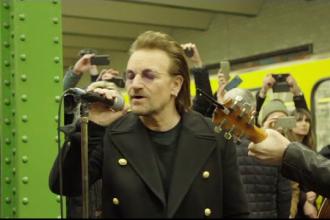 Bono a rămas fără voce în timpul unui concert la Berlin. Ce a urmat. VIDEO
