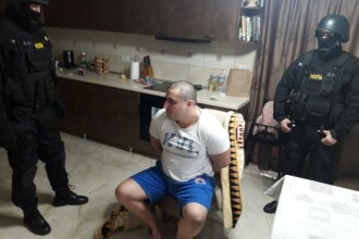 Ce s-a întâmplat cu individul din Suceava care a lovit un polițist cu sabia în cap