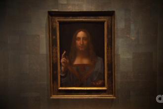 """Capodopera lui da Vinci, """"Salvatorul Lumii"""", cumpărată de un prinț saudit"""