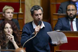 Parlamentar francez, amendat după ce s-a prezentat la o dezbatere în tricoul unei echipe de fotbal