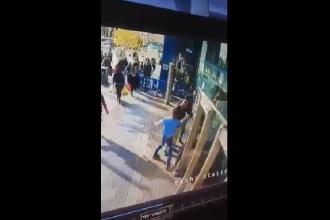 Momentul în care un israelian este înjunghiat de un palestinian la Ierusalim