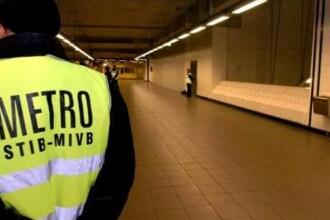 Un român a murit în urma unei altercații sângeroase la metroul din Bruxelles