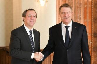 Klaus Iohannis s-a întâlnit cu vicepreședintele Băncii Mondiale pentru Europa și Asia Centrală