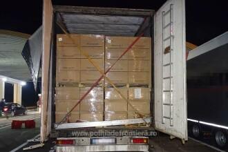 4 sirieni, între care 2 copii mici, găsiţi la vamă într-un camion cu haine