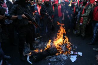 Poliția germană va încerca să prevină arderea drapelului israelian, la proteste. Reacția președintelui Germaniei