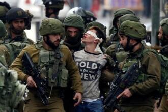 """Mărturia unor copii palestinieni, arestați de militarii israelieni: """"Ne-au legat la ochi și ne-au interogat două ore"""""""