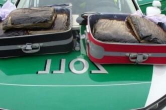 Doi români, prinși cu 10 kilograme de marijuana în Germania