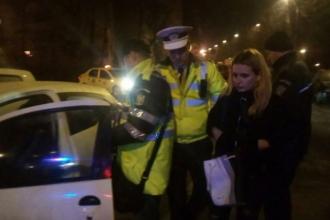 O șoferiţă din Vaslui, beată criţă, a lovit cinci maşini parcate regulamentar. Cum s-a apărat în fața polițiștilor