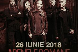 Concert cu Stone Sour la București, trupa lui Corey Taylor de la Slipknot