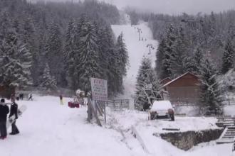 Iarna începe să se instaleze în toată țara. În Poiana Brașov s-a deschis sezonul de schi